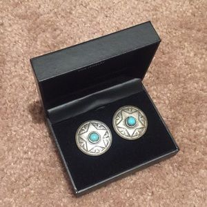 Jewelry - Turquoise Star Earrings